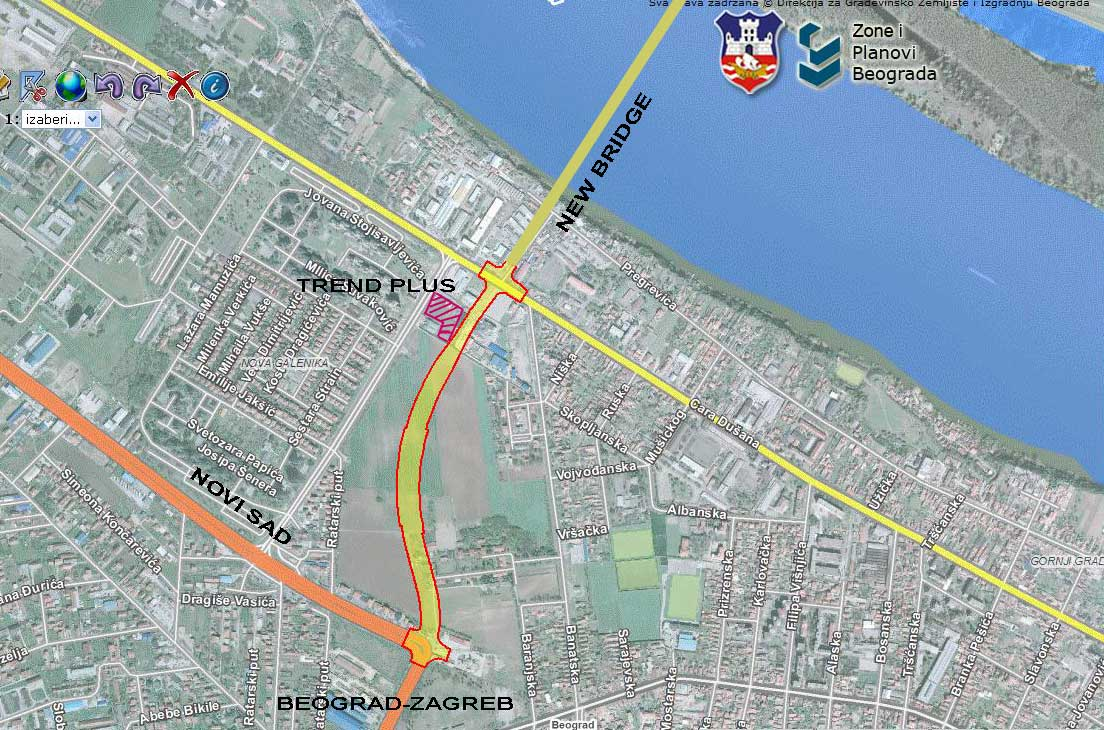 mapa plus plan beograda TREND PLUS ::.. mapa plus plan beograda